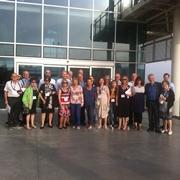 משלחת ה- Living Legacy השנתית מאנגליה ביקרה בבניין בית הספר