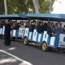 סטודנטים ברכבת הפארק !!
