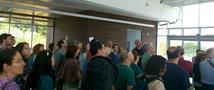 מאות מבקרים סיירו בבניין במסגרת 'בתים מבפנים'