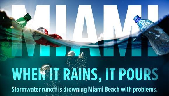 תחרות סטודנטים - האם תוכלו לפתור את אתגרי ניהול זרמי מי הגשמים העזים במיאמי ביץ'?