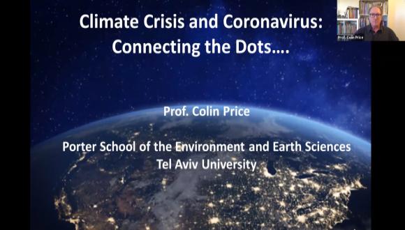 הקשר בין משבר הקורונה ומשבר האקלים