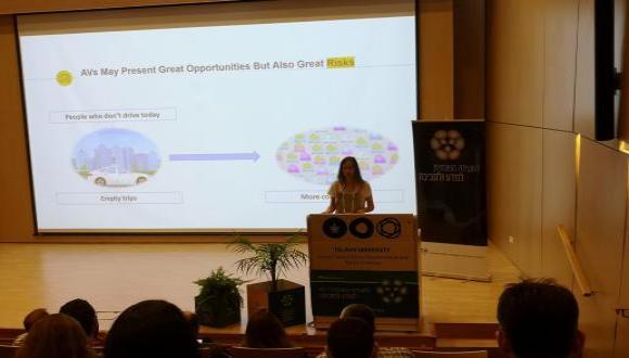 """מושב """"חדשנות במחקר לקראת תחבורה מקיימת"""" במסגרת ועידת מדע וסביבה 2019"""