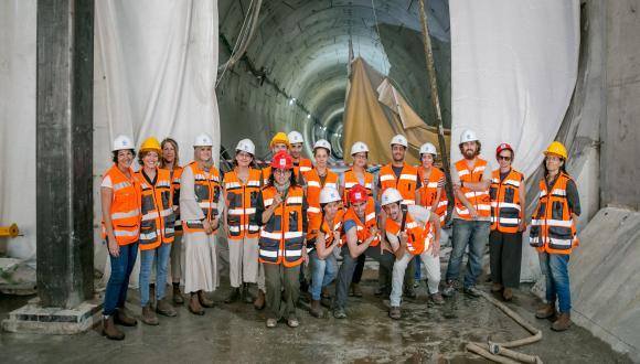 קורס סיורי שטח - במנהרות הרכבת התחתית בתל אביב
