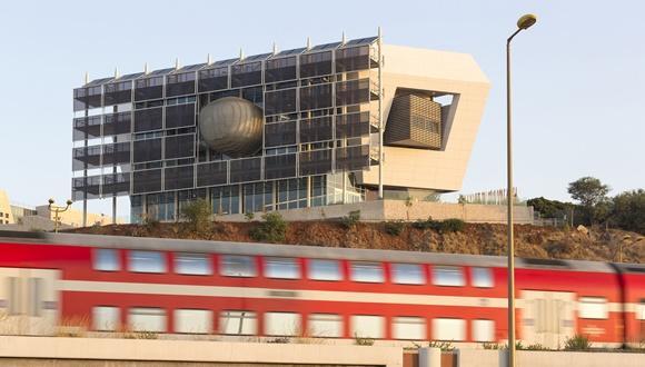 הבניין הירוק של החוג ללימודי הסביבה