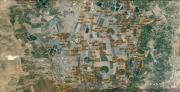 מפת פיזור קיני תנשמות בעמק בית שאן