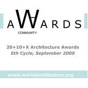פרויקט זוכה בתחרות World Arch. Community 2009